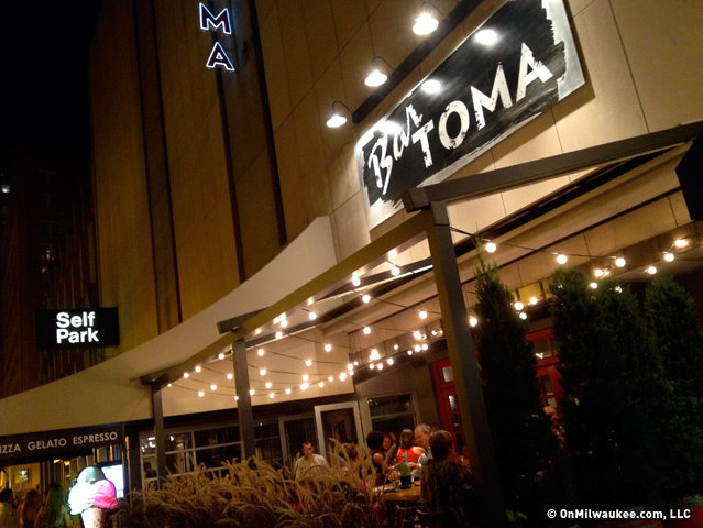 Even on a Friday night, Bar Toma offered the perfect dining experience for a family.