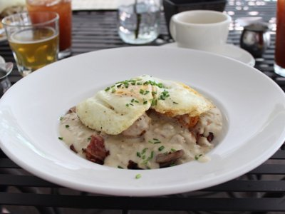 Sunday brunch at Bass Bay Brewhouse offers delicious food with a view