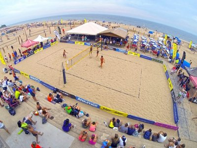 Beach volleyball expands