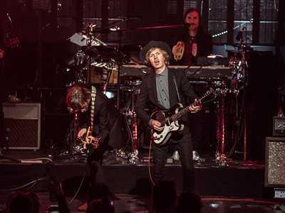 Odelay: Beck brings back his fun side in long-anticipated show