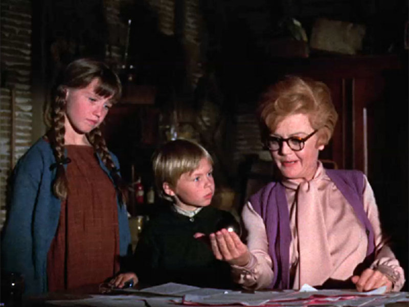 """Bedknobs and Broomsticks"" hit the big screen in 1971. This fall, Disney released the Blu-ray, DVD combo pack."