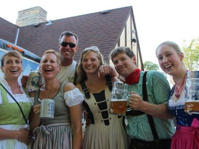 Beer garden's opening and German Beer Day fall on same Saturday