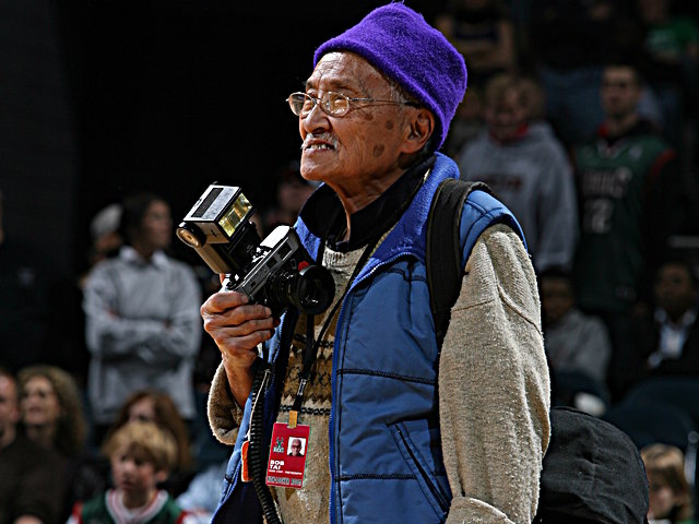 Bob Tai photographed Milwaukee Bucks games since 1969.