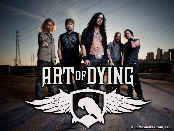 Art of Dying plays, Friday, July 6, at 8 p.m. on the Rock Stage.