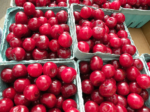 Door County cherries are tart but perfect for cooking and baking.