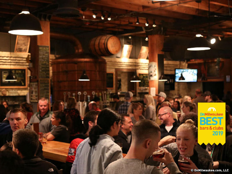 Best Restaurants Milwaukee 2019 Milwaukee's best bar in a restaurant, 2019   OnMilwaukee