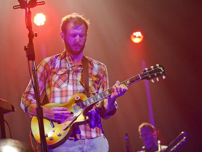 A confident Justin Vernon delivered a really great show in July, 2011.