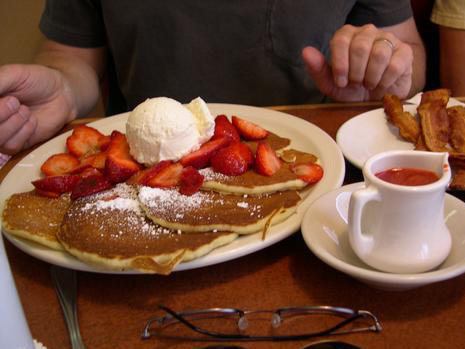 Awesome Pancakes (surprise!) Are The Main Attraction At The Original Pancake House.