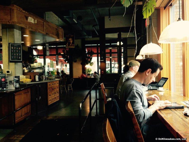 Milwaukee's best coffee shop/cafe, 2014