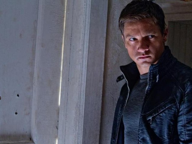 "Jeremy Renner stars in the fourth Bourne movie, ""The Bourne Legacy,"" out this weekend."