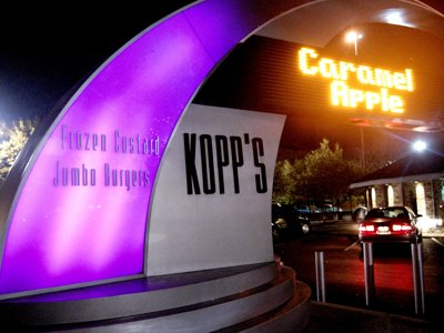 Milwaukee's best frozen treats, 2011: Kopp's Frozen Custard