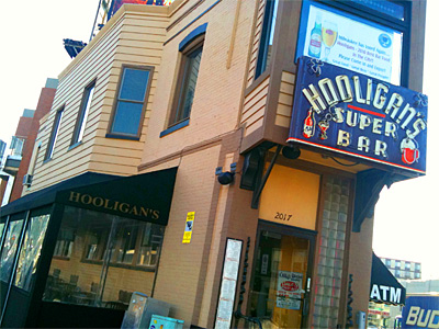 Milwaukee's best bar on or near North Avenue/UWM, 2011: Hooligan's