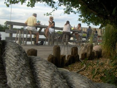 Best patio/outdoor seating, 2012: Barnacle Bud's