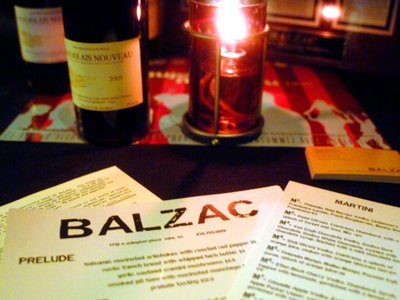 Milwaukee's best restaurant wine list, 2010: Balzac