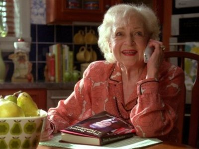 OnMedia: Live from New York ... it's Betty White