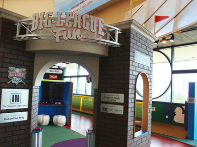Big League Fun exhibit Image