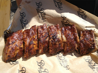 Rosen's ribs promise a tailgate touchdown every time