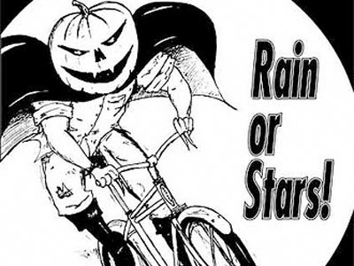 Biketoberfest 2008 is on, rain or stars!
