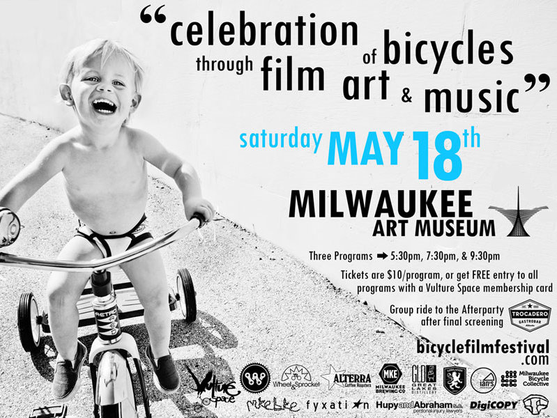 The Bicycle Film Festival wraps up Bike to Work Week on May 18