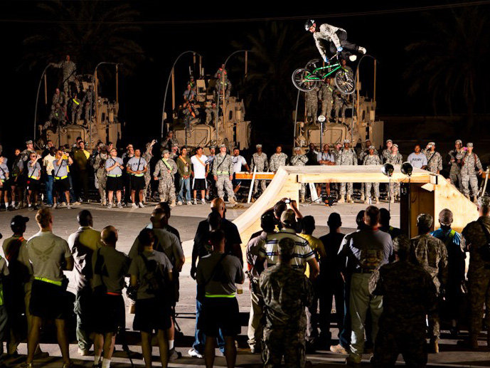 Bikes Over Baghdad is just one of several bike-related events scheduled for this weekend.