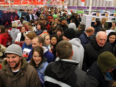 Black Friday: The ugly side of America