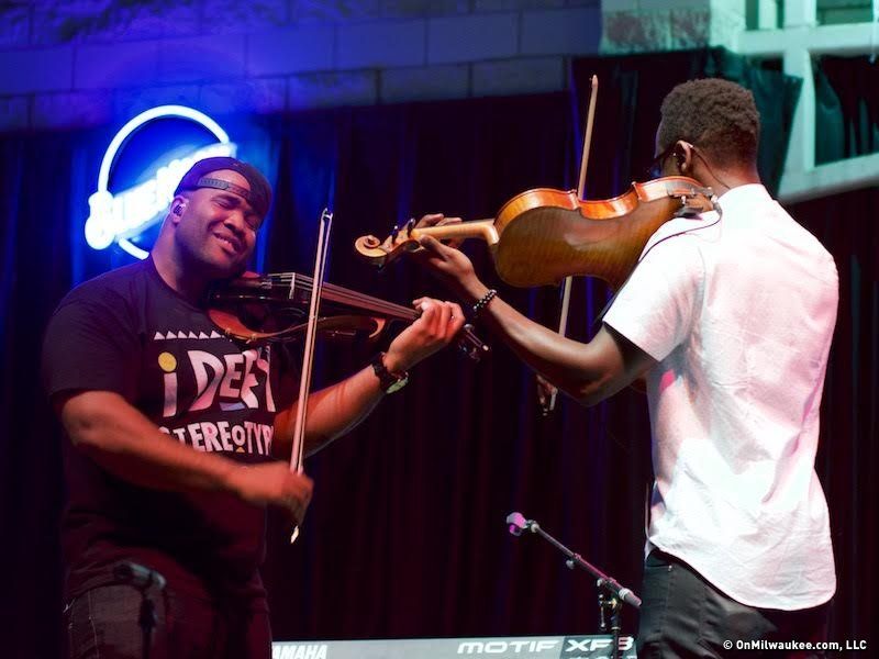 Black Violin strings together hip-hop and classical at
