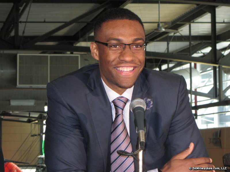 Want to meet Jabari Parker and sit courtside at a Bucks game?