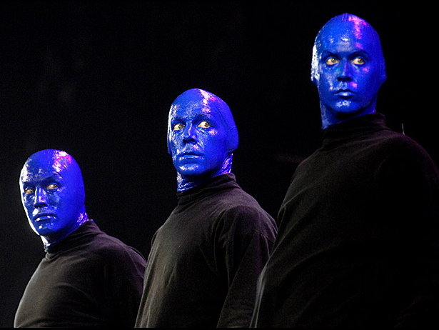 Blue Man Group Paint Or Mask