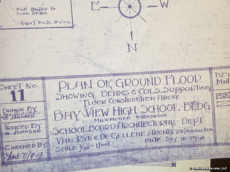 You, too, can own a piece of Bay View High School history.