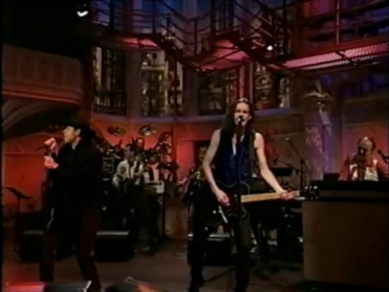 "The BoDeans played ""Feed the Fire"" on David Letterman's show."