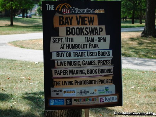 Sunday was a great day for a bookswap. Now who won the e-Reader?