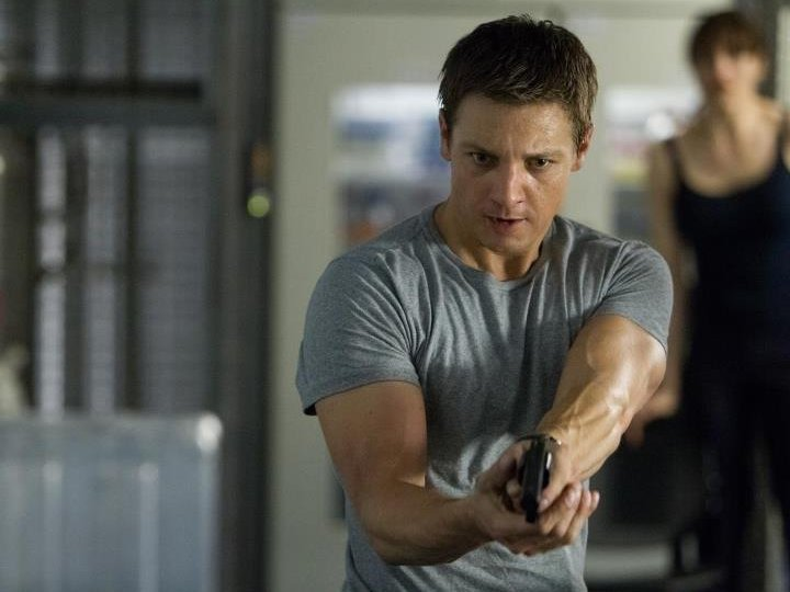 "Jeremy Renner stars as Aaron Cross in ""The Bourne Legacy,"" in theaters now."