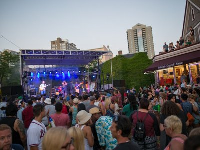 Here's the lineup for the 2017 Brady Street Festival
