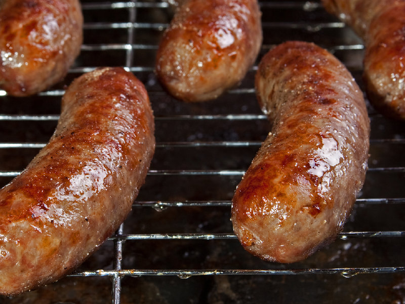 Sheboygan and Johnsonville Sausage are amused by Germany's attempt to trademark bratwurst.
