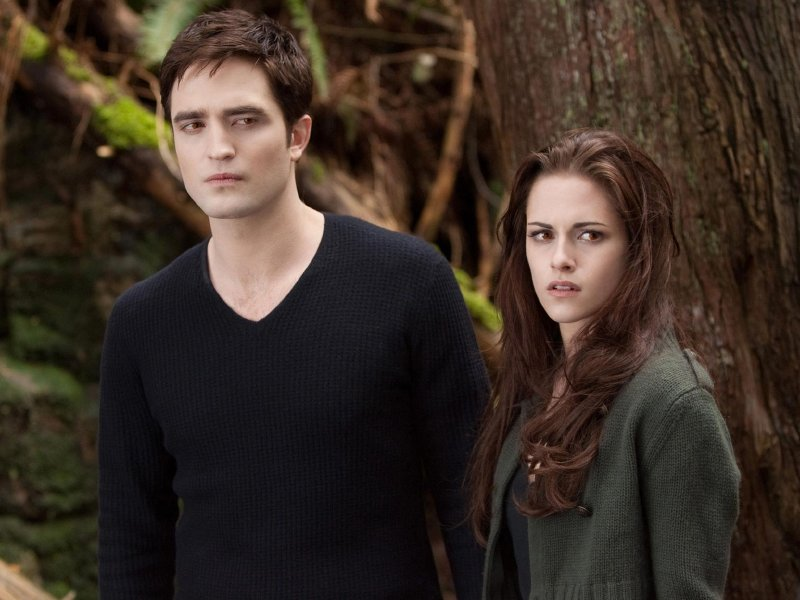"Robert Pattinson and Kristen Stewart star in ""The Twilight Saga: Breaking Dawn - Part 2."""