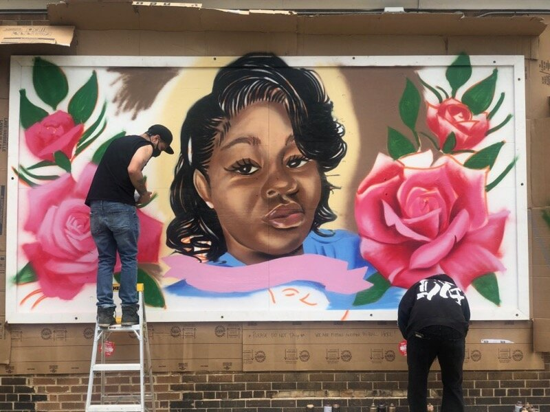 Powerful Breonna Taylor Mural Painted In Riverwest Harambee