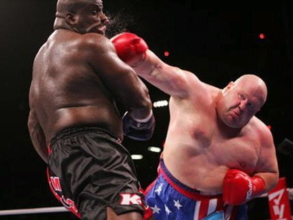 Butterbean will fight Saturday night at U.S. Cellular Arena.