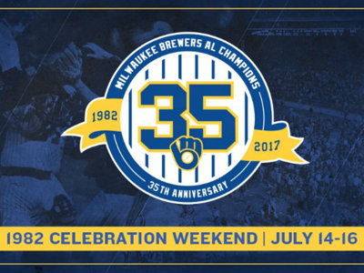Brewers' 1982 AL Championship team to reunite July 14-16 in Milwaukee
