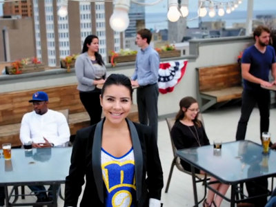 Making statewide appeal, Brewers' new TV ad tells fans