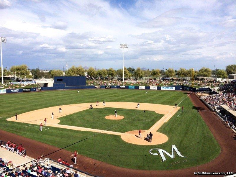 afc2ec0c7fd05 Brewers announce 2017 spring training schedule