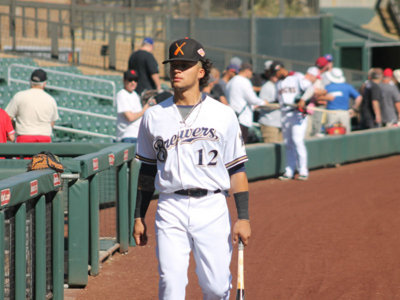 Brewers' future takes a final swing during Arizona Fall League Image
