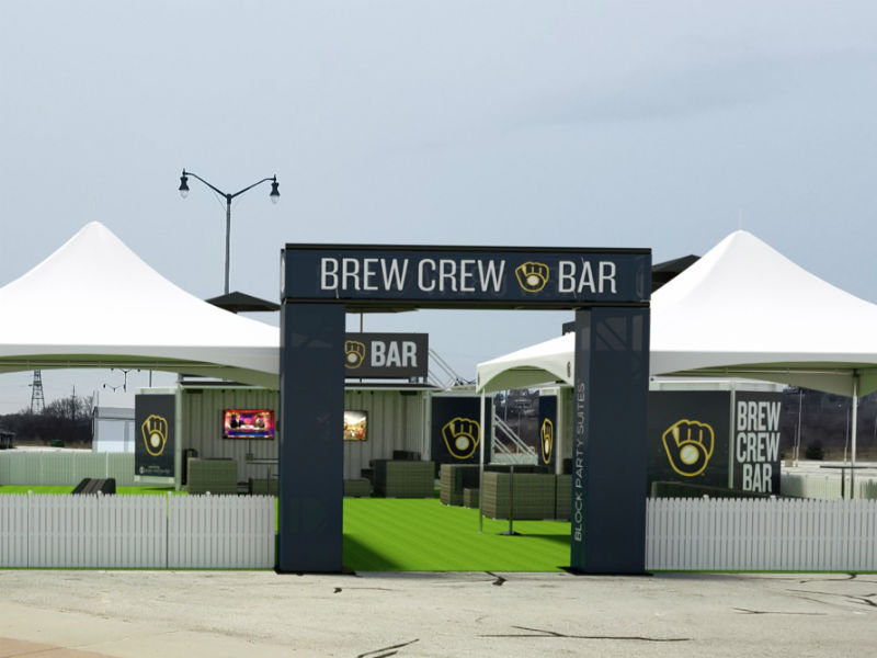 New Brew Crew Bar somehow makes Miller Park tailgating even better - OnMilwaukee & New Brew Crew Bar somehow makes Miller Park tailgating even better ...