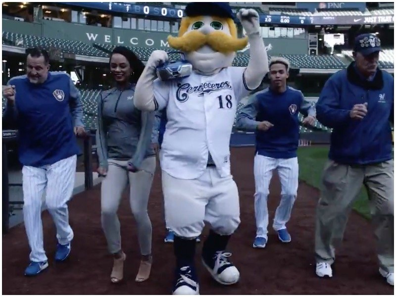 newest 4b7cc 52c9b Watch this video and get ready for Brewers' 13th annual ...
