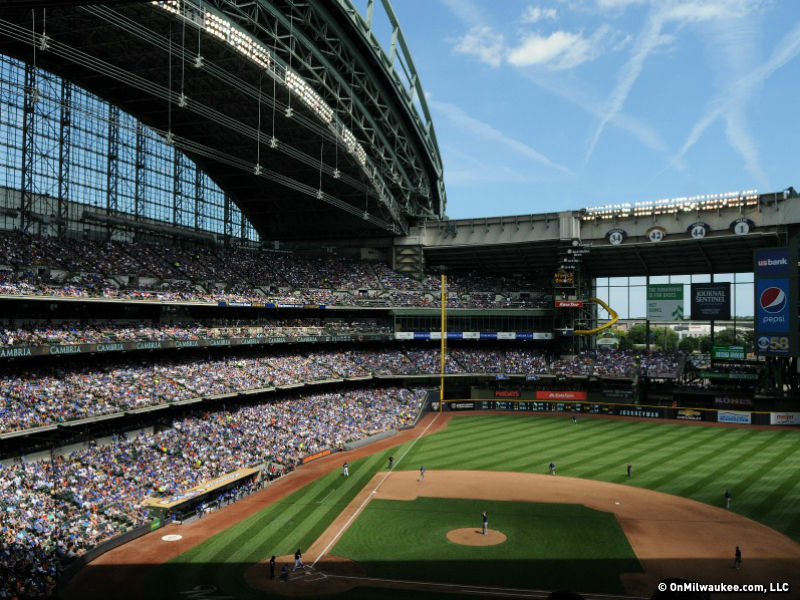 Here's everything that's happening at Miller Park this week