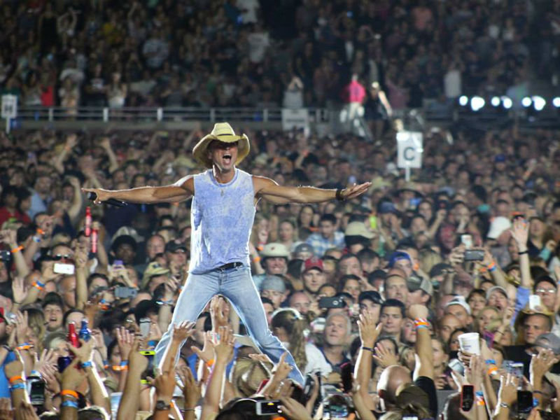 Kenny Chesney and country friends play at Miller Park on April 28, 2018 Image