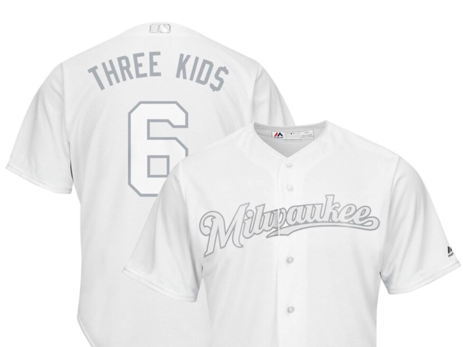 hot sale online 64608 2c4bd The Brewers' 2019 Players Weekend jersey nicknames, ranked ...