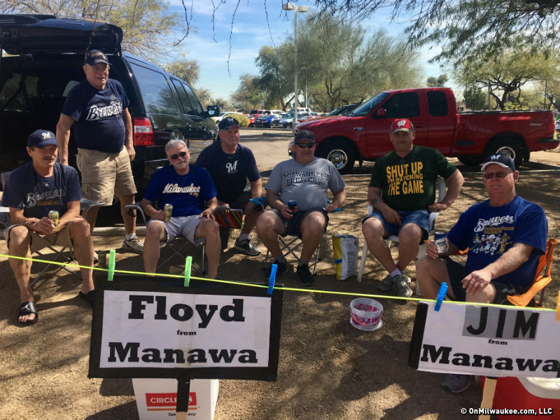 A taste of Miller Park at Maryvale: The Brewers Spring Training tailgate scene