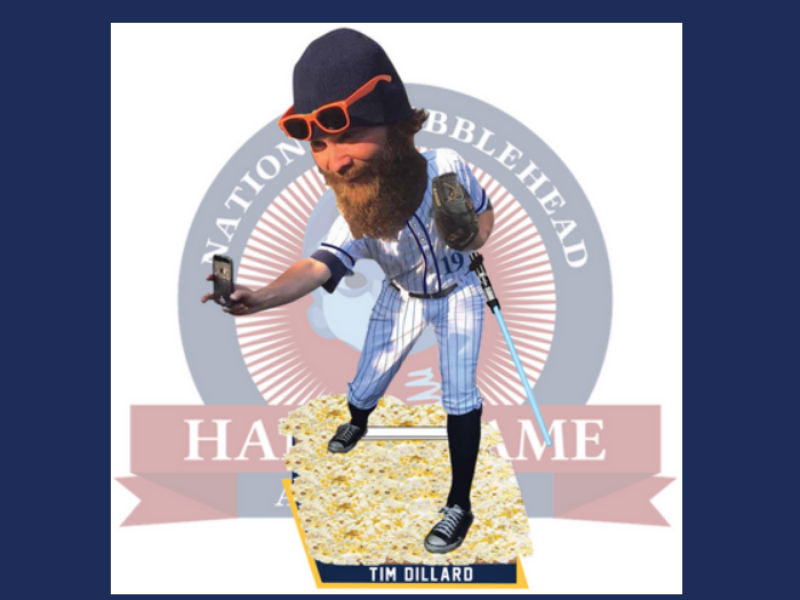 Here is the Tim Dillard Bobblehead you didn't know existed, but now must have