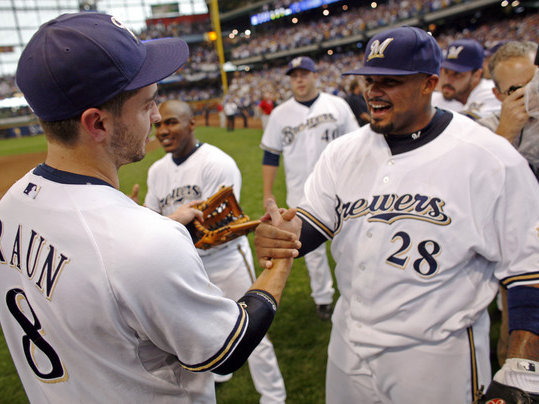 Now that the dynamic duo of Fielder and Braun is broken up, how will the Brewers replace Fielder's production?