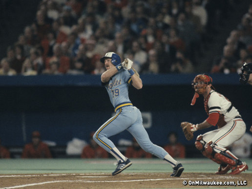 Robin Yount starred in the 1982 World Series agains the St. Louis Cardinals, hitting .414, but it wasn't enough.